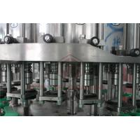 China Metal Screw Cap Bottle Filling And Capping Machine / Hot Juice Glass Bottle Filler wholesale