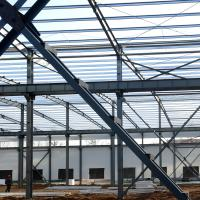 Buy cheap Fabricated Light Type Q235 Q345 Pre Built Metal Buildings Prefabricated Steel from wholesalers