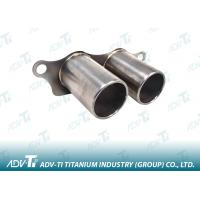 China Welded Gr1 Exhaust Pipe Welding Titanium Pipe ASTM B338 Automobile System wholesale