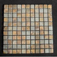 China green quartz floor tiles mosaic natural stone tile home depot or park wholesale