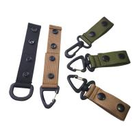 China Outdoor Nylon Web Belt Hook Backpack Hanging Swivel Hook Tactical Army Strap wholesale