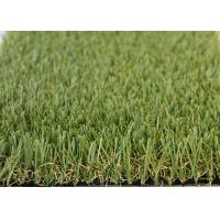 China Playground Artificial Turf Fake Grass Carpet Indoor 35MM Height 3 / 8 Inch Guage wholesale