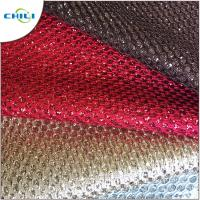 Buy cheap Shoes Application Glitter Leather Fabric Artificial Custom Printed from wholesalers