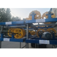 China 4.5kw 250M2/Hour Automatic Chain Link Fence Machine wholesale