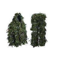 Hybrid Woodland Camouflage Ghillie Suit Lightweight  Hybrid Woodland Camouflage Ghillie Hunting Suit Light