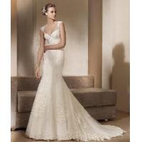 China a-Line V Neck Long Sleeves Bridal Wedding Gowns wholesale