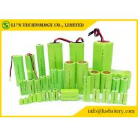 China Rechargeable Nickel Metal Hydride Battery Cylindrical Single Cell Type 1.2V on sale