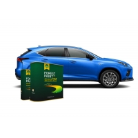 China Forest Bright Blue 1K Basecoat Pearlescent Car Paint wholesale