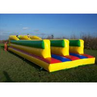 China Challenging Bungee Run Playground Inflatable Sports Games With 2 Lane CE on sale