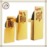 China GOLD FOIL PLAYING CARDS CUSTOM DESIGN wholesale