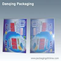 China Laminated Flexible Packaging Lable Detergent With Adhesive Strap wholesale
