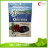China Dried Healthy Gouji Berries packaging Pouch , Bottom Gusset Ziplock Bags wholesale