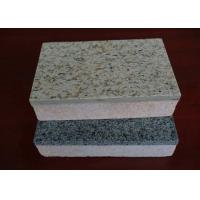 China Heat Insulation Cement Board Partition Exterior Wall Cladding / Flooring Waterproof and Fireproof wholesale