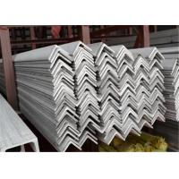 China DIN 304 / 304L Cold Drawn Stainless Steel Angle Bar , 3 x 3 Equal Angle Iron wholesale