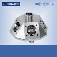 China 316L Multipass Pneumatic Diaphragm Valve , sanitary stainless steel fittings wholesale