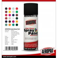 China AEROPAK China Wholesale 400ml High Quality Acrylic Spray Paint wholesale