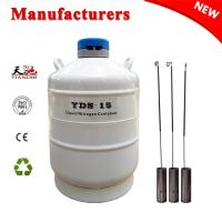 China TIANCHI Liquid Nitrogen Cylinder 15L White Biological Container Price wholesale