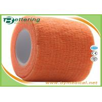 China Self Adhering Coflex Elastic Cohesive Bandage / First Aid Tape For Healthcare wholesale