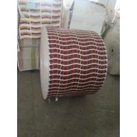 China Red Flexo Printing Printed Paper Roll Biodegradable Customized Printing Paper Rolls wholesale