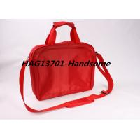 China Red 420D polyester document briefcase bag for ladies and Men wholesale