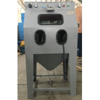 China Stainless Steel Wet Blasting Cabinet , Sand Blast Cabinet Environmental Friendly wholesale