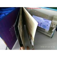 China 7 inchMultipages lcd screen printed video card / video mailer with durable battery wholesale