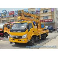 China 14m Foton Forland High - Altitude Operation Truck Trailer LHD / RHD wholesale