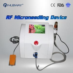 China Nubway fractional rf / microneedle rf / wrinkle removal machine wholesale