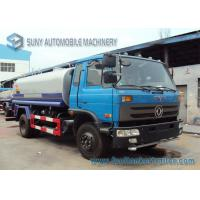 China 6000 L - 8000 L Sanitation Water Tanker Truck Dongfeng Chassis 4*2 Drive wholesale
