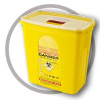 China 23 Litre Sharps disposal container, Sliding Lid, Red,Sharps Container  | WinnerCare wholesale