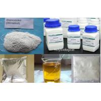 China Muscle Fitness Injectable Anabolic Steroids Stanozolol / Winstrol CAS 10418-03-8 wholesale