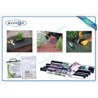 China Waterproof  Garden Virgin Pp Weed Control Fabric Non Woven SGS on sale