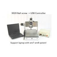 China 3 Axis Laptop Mini CNC Router , Ball Screw CNC Router Machine USB CNC3020B wholesale