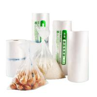 China Transparent Flat Poly Bags Shock Resistance Gravure Printing For Food Packing wholesale
