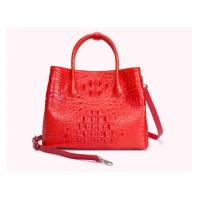 China Genuine crocodile leather bag for women stylish high-capacity lady's handbag cross-body bag with one shoulder on sale