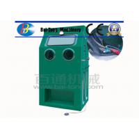 China Reinforced Fiberglass Body Wet Sandblasting Cabinet 1050*750*1750mm Dimension wholesale