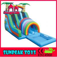China WL-001B Backyard Commercial Inflatable Water Slide For Sale wholesale