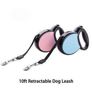 China Heavy Duty Retractable Dog Leash , Ergonomic Flexi Retractable Cord Dog Leash wholesale