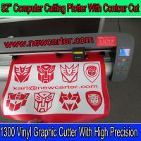 China TH1300 Cutting Plotter With Stand Large Vinyl Cutter Plotter With Contour Cut 52'' Cutter wholesale