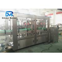 China Milk Beverage Liquid Bottling Machine High Filling Accuracy Compact Structure wholesale