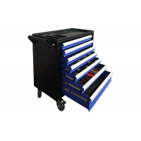 "China 30"" Keylock 7 Drawer Tool Chest For Storehouse Anti Rust Treatment wholesale"