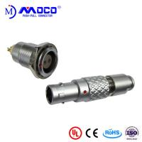 China 0B 2 pin male and female circular push pull connector for Infrared Camera wholesale