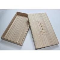 China Lightweight Personalised Engraved Wooden Box , Paulownia Wooden Tea Bag Storage Box With Custom Logo wholesale