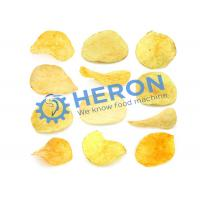 Commercial Grade Electric Potato Chip Slicer , Automatic French Fry Cutter Machine High Effiency Manufactures
