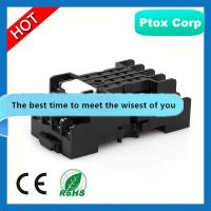 China 2014 Hot Sale Mini Motive 4 Pin or 5 Pin Car Ceramic Relay Socket for 12V auto relay socket wholesale