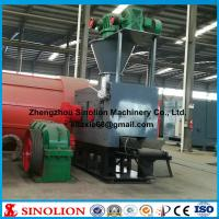China Ball shape coal powder  lime powder briquette press machines wholesale