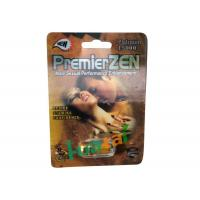 China Red 3D Cards Natural Male Enhancement Pills For Preventing Premature Ejaculation wholesale