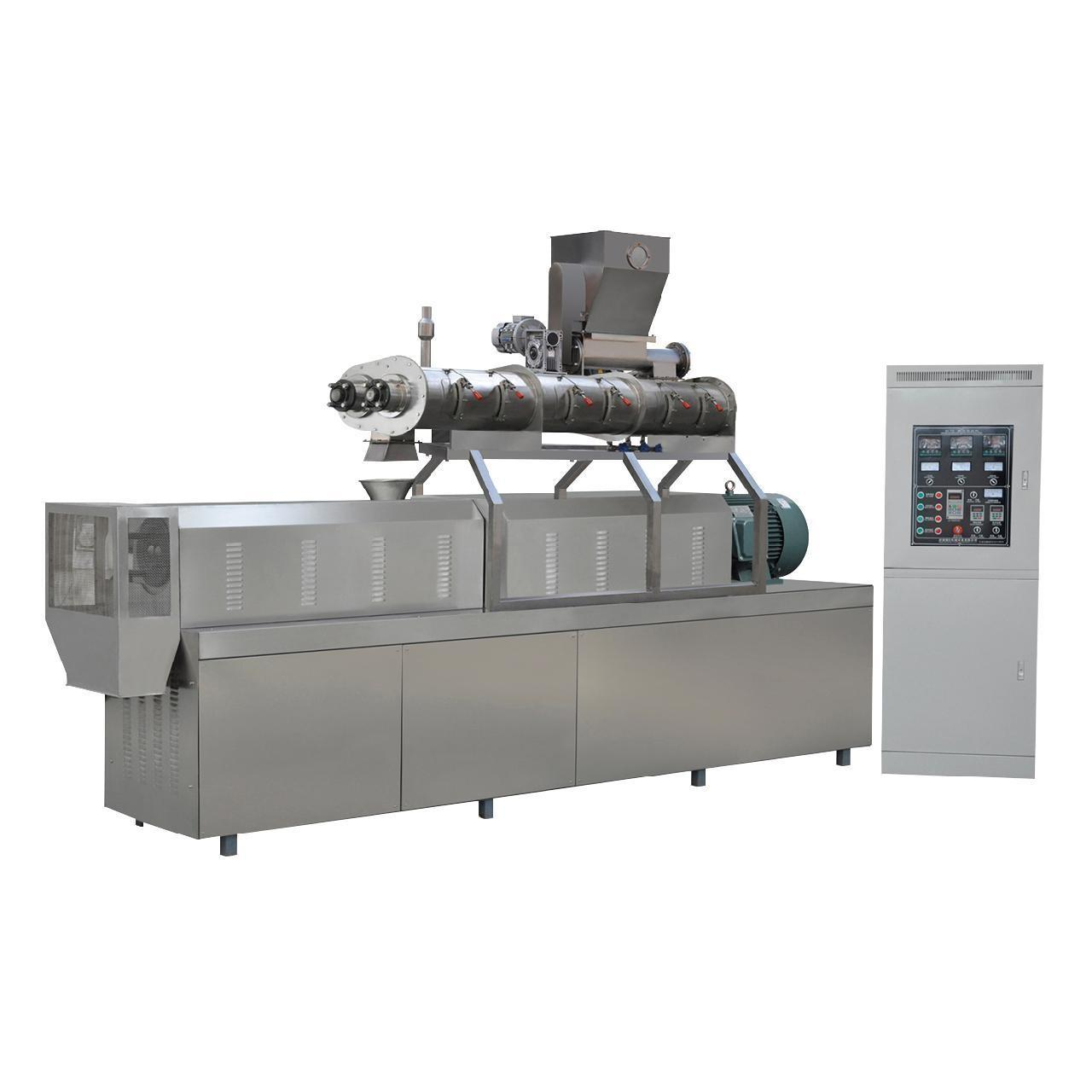 China 900kg/h twin screw extruder South Korea fish feed pellet machine price wholesale
