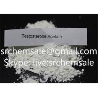 China Testosterone Acetate Muscle Building Steroids Powder Testosterone Acetate 99.9% Purity on sale