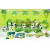 China 2019 Kids Boys Birthday Party Decoration carton Set Football Theme Party Supplies Baby Birthday Party celebration wholesale